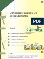 Conceptos Básicos de Estequiometria