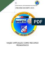Capacitacion Docente Viajes Virtuales 2015