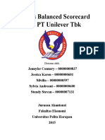 Analisis Balanced Scorecard Pada PT Unilever Tbk
