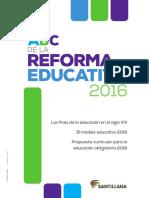 ABC de La Reforma Cuadernillo Reforma Educativa