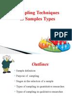 Sampling Slide