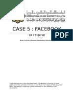 CASE 5 OB facebook