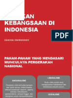 Gerakan Kebangsaan Di Indonesia