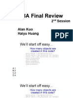 CSE8A Final Review Slides
