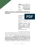 SE PONE EN CONOCIMIENTO AGOTAMIENTO DE LA VIA ADMISNITRTIVA POR HABER OPERADO EL SILENCIO.docx