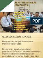 Internalisasi Nilai-nilai Dasar Antikorupsi