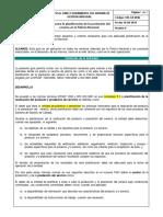 1DS-GU-0006 Guía Para La Planificación de La Prestación Del Servicio en La Policía Nacional