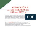 Introducción a HTML Helpers en ASP