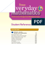Texas Everyday Mathematics Grade 4 _ Student Reference Book