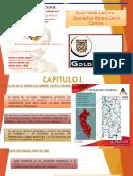 Gold Fields La Cima - Operacion Minera Cerro Corona Final