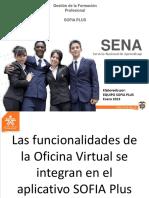 Videoconferencia Nacional Oficina Virtual y Sofia Plus 29 de Enero 2013