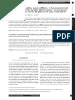 Desarrollo y Politica Social en Mexico-Avila y Gabarrot (2009)