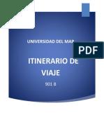 Itinerario de Viaje Al Estado de Hidalgo 1