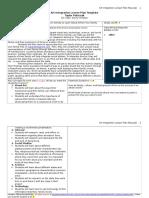 afc2105lesson plan template ltc4240