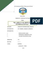 93040508 Asilo y El Refugio Internacional de Derecho Internacional Publico