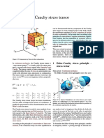 Cauchy Stress Tensor Wiki