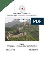 Mod i Historia de China