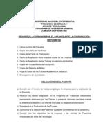 NORMAS PARA EL INFORME FINAL DE PASANTIAS