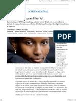 Ayaan Hirsi Ali.cinco Tesis