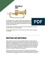 Improvisación Con La Trompeta