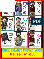Bible Friends Poster Book