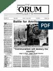 The Forum Gazette Vol. 3 No. 10 May 20-June 5, 1988