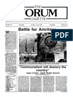The Forum Gazette Vol. 3 No. 10 May 20-June 5, 1988