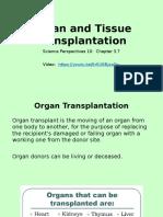 lesson 7 - organ transplantation ppt