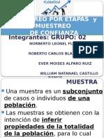 Muestreo Por Etapas y Muetreo de Confianza.