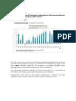 II Análisis de Los Principales Indicadores Macroeconómicos (1)