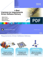 Boost Agility - Ten Best Practices for Requirements Driven Software Delivery