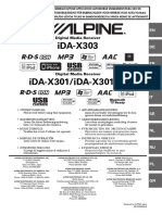 Alpine Om Ida-x301 Es