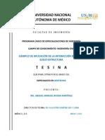 Ejemplo de Aplicacion de La Interaccion Dinamica Suelo-estructura