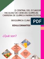 Edulcorantes BC - QF