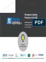 UAE Emergency Lighting Guide Lines -Good