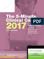 The 5-Minute Clinical Consult 2017-LWW 25e (2016) UnitedVRG