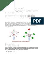 Bentuk Molekul Dan Hibridisasi Orbital XeOF4