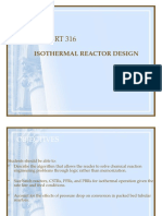 Isothermal Reactor Design