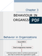 03 - Behaviour in Organization