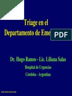 Triage en El Departamento de Emergencias