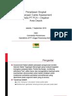 Sosialisasi Assessment Kabel