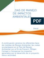 Medidas de Manejo de Impactos Ambientales