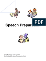 Speech Preparation