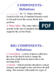 Rig Components (Basic Definitions)