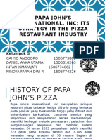 PPT Papa John's Pizza
