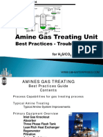 Amine Treating - Troubleshooting Guide