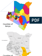 Customizable Maps Kenya