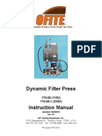 Dynamic Filter press  Manual