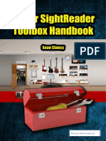 Guitar Sight Reader Toolbox Manual