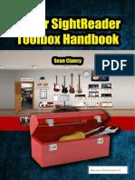 Guitar Sight Reader Toolbox Manual